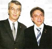 Fritz Oesterle e Paulo Panarello